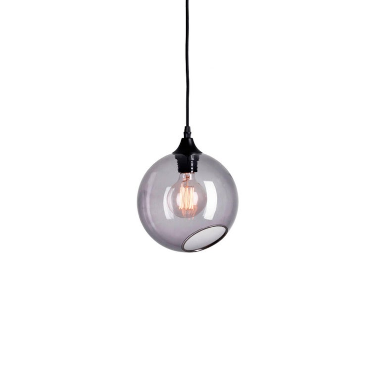 Contemporary Flash Your Lamps, Brass and Colorful Glass Chandelier For Sale