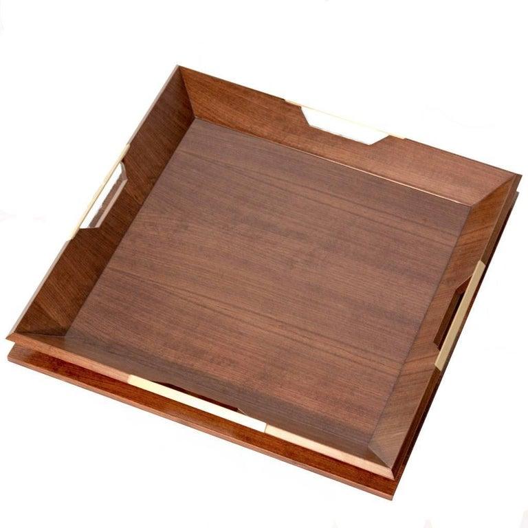 Modern Le Tray/Walnut, Oakwood Tray For Sale