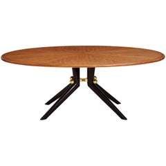 Trocadero Wood Dining Table
