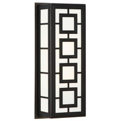 Parker Rectangular Sconce in Bronze