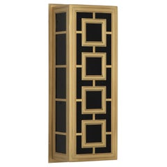Parker Rectangular Sconce in Brass