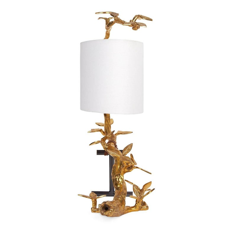 Kyoto Cast Brass Table Lamp 2