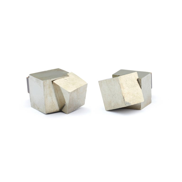From our Rare Earth Collection: The pyrite and solid bronze knob As featured in Architectural digest, luxe magazine, cottages and gardens.