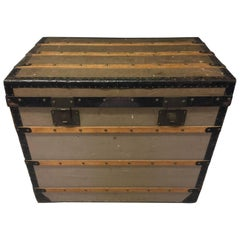 Antique Louis Vuitton First Flat Top Trunk