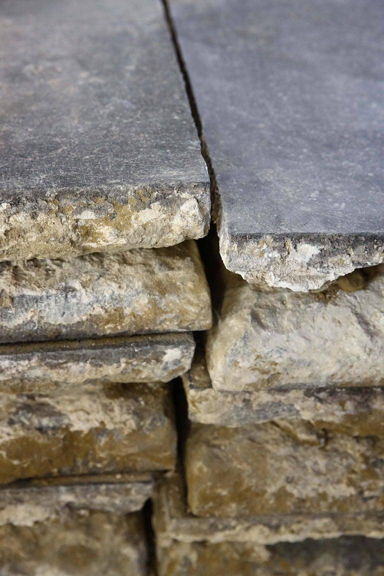 Belgian Reclaimed Bluestone Flooring from Belgium For Sale