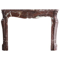 Antique Marble Fireplace, 837