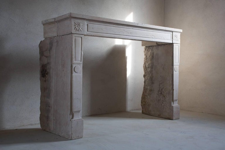 Louis XVI Antique French Fireplace For Sale
