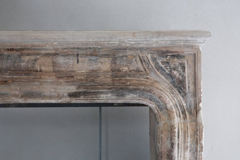 French Beautiful Antique Fireplace For Sale