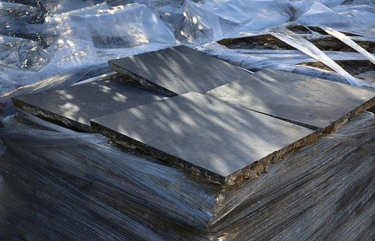Reclaimed Bluestone Flooring from Belgium For Sale 1