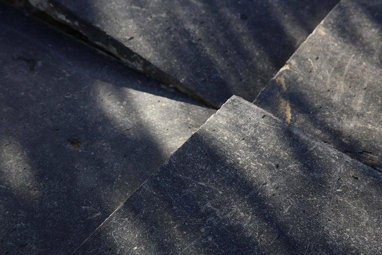 Reclaimed Bluestone Flooring from Belgium For Sale 2