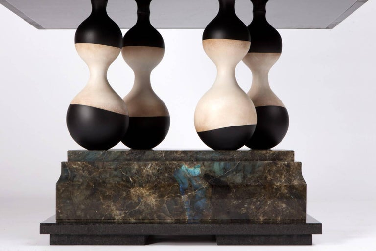 Glass 'Medusa' Limited Edition Cabinet from Egli Design For Sale