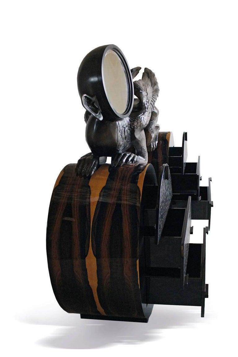 Modern 'Watcher' Unique Cabinet from Egli Design For Sale