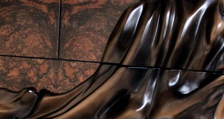 Contemporary 'Dancers Twins' Unique Cabinet from Egli Design For Sale