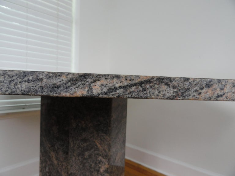 Octagonal Marble Table For Sale 2