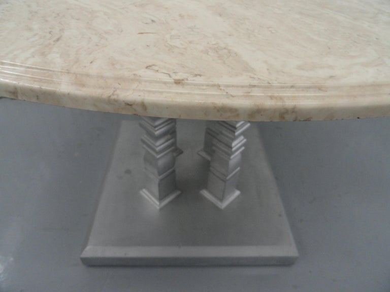 Four-Column Table In Good Condition For Sale In West Palm Beach, FL