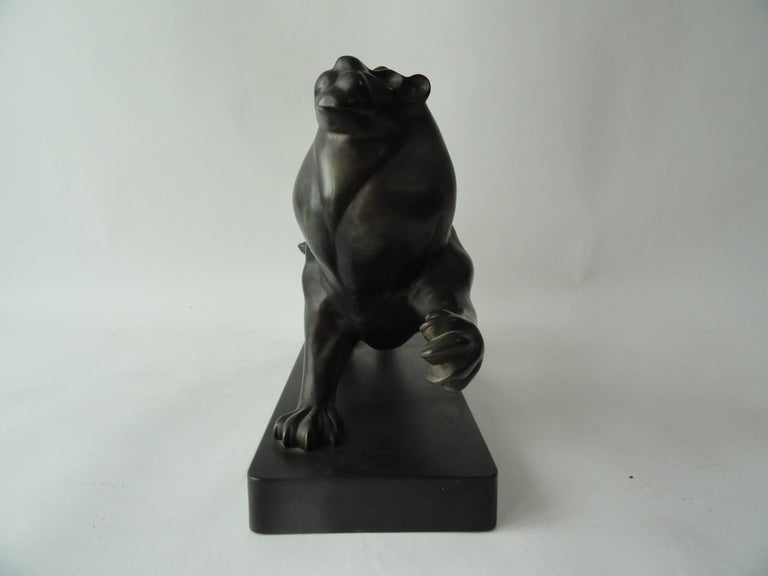 Roberto Estevez, Signed, Lion in Bronze 3
