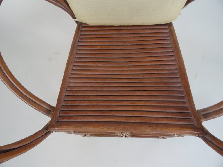 Pair Of Mcguire Butterfly Chairs At 1stdibs