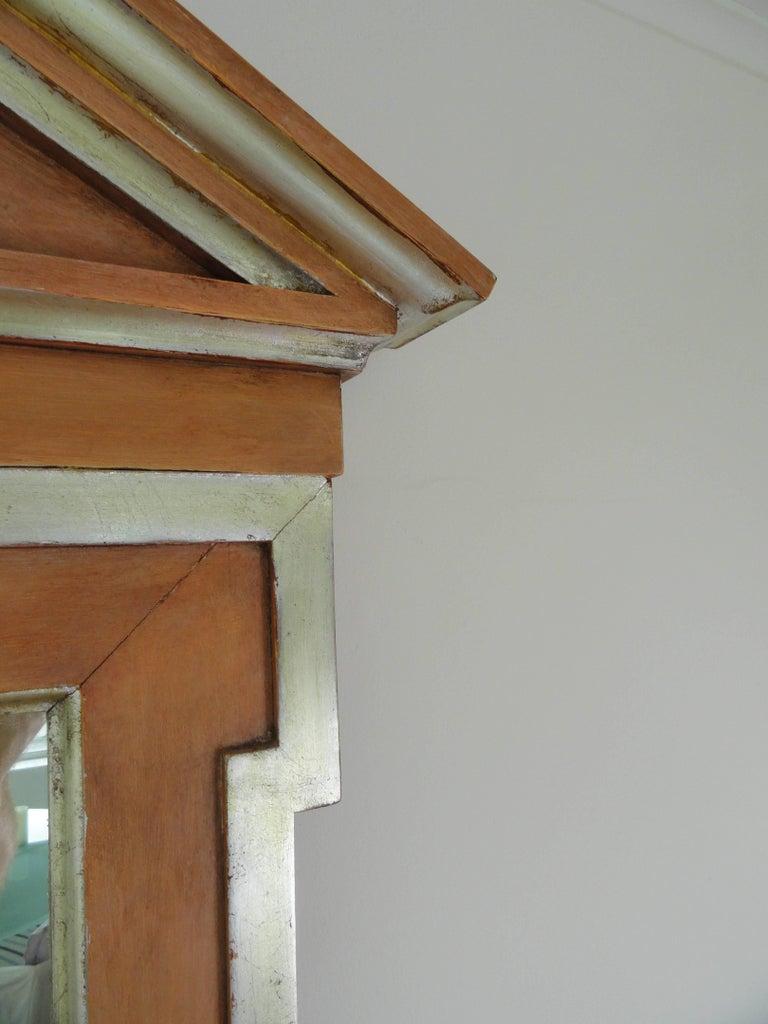 Broken pediment furniture