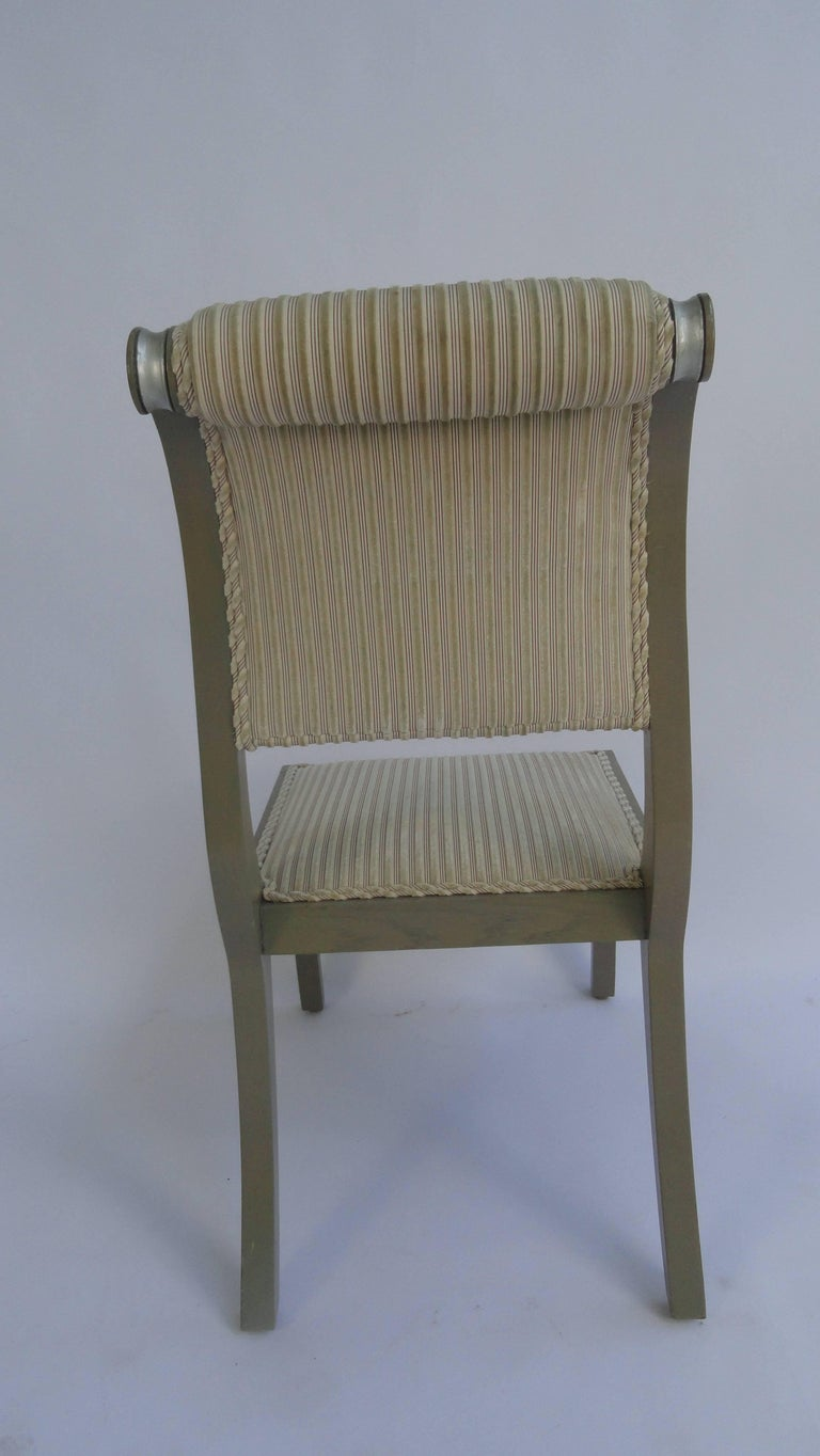 Regency Style Painted Chairs At 1stdibs