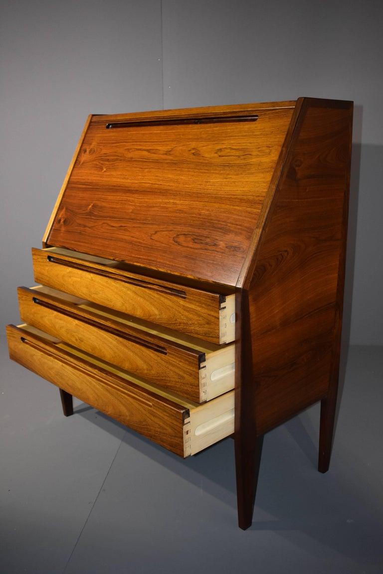 Niels jonsson rosewood bureau for torring denmark for for Bureau for sale