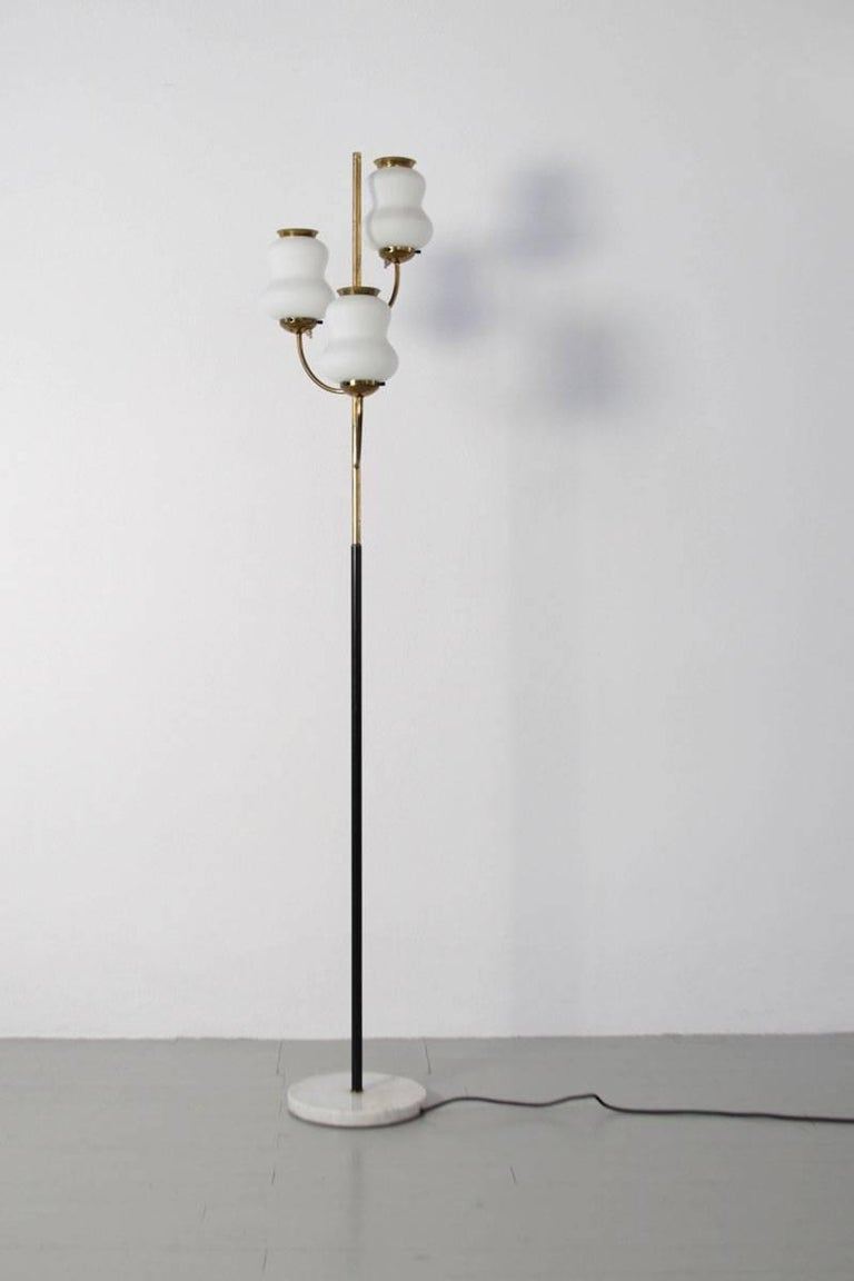 Italian Floor Lamp by Stilnovo, 1960s 5