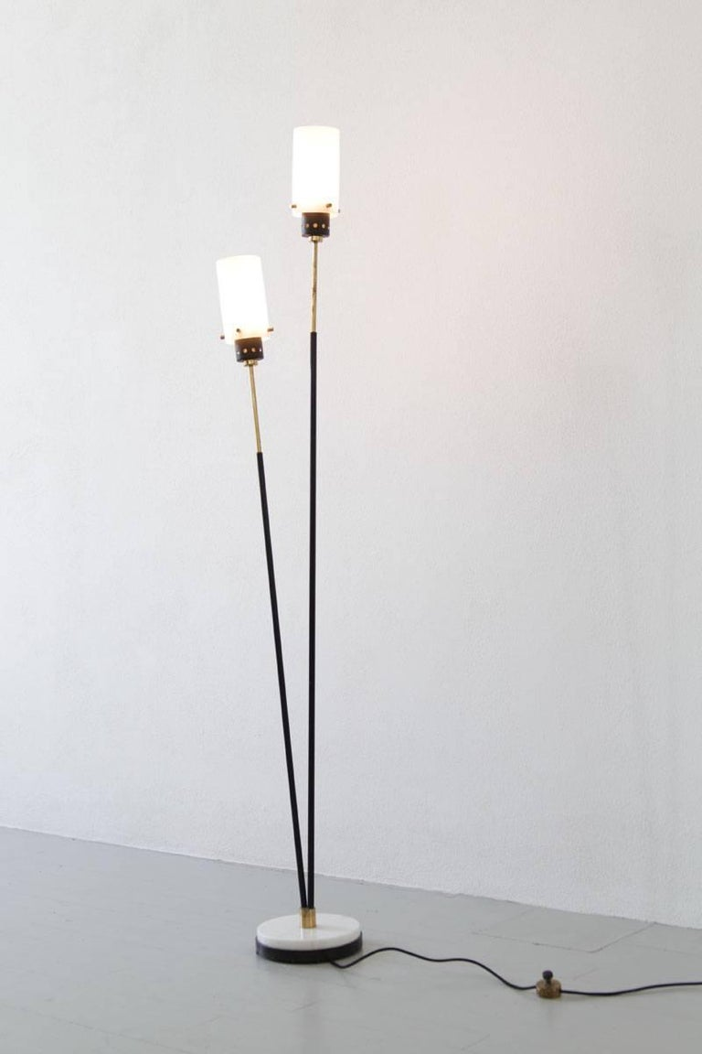 Pair of Italian Floor Lamps by Stilnovo, 1960s For Sale 3