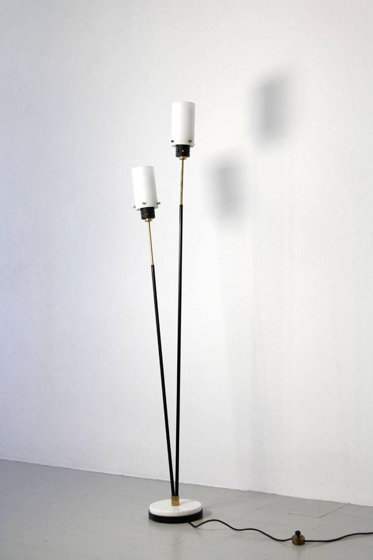 Pair of Italian Floor Lamps by Stilnovo, 1960s For Sale 2