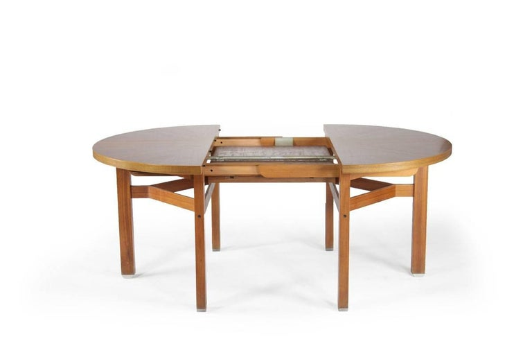 Ico Parisi Wooden Dining Table, Italy, 1960s For Sale 1