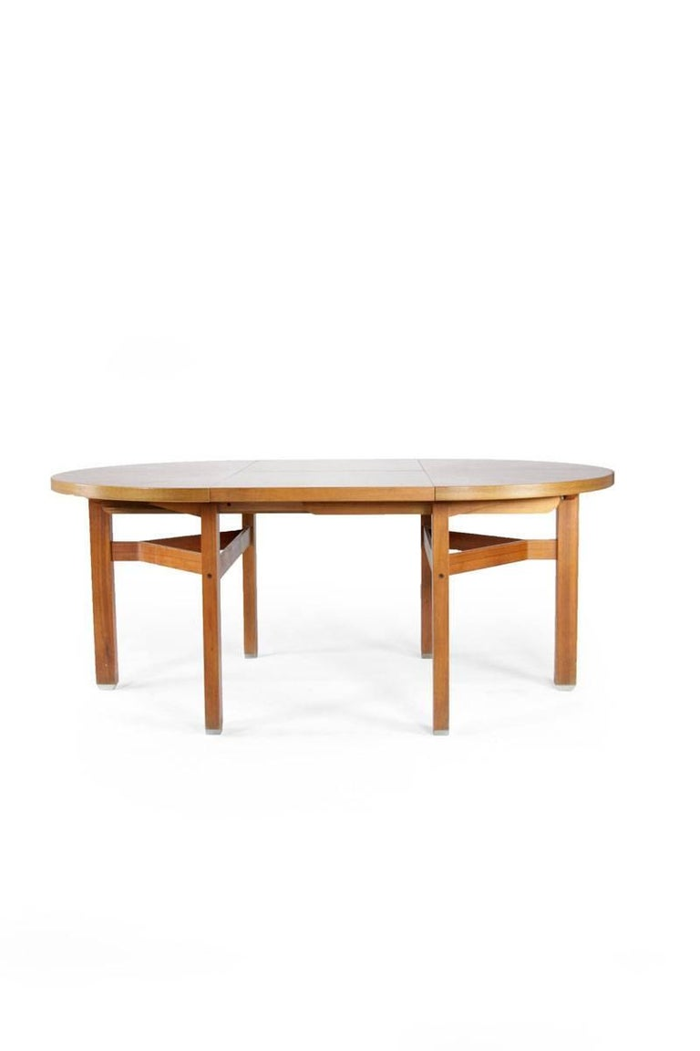 Mid-20th Century Ico Parisi Wooden Dining Table, Italy, 1960s For Sale