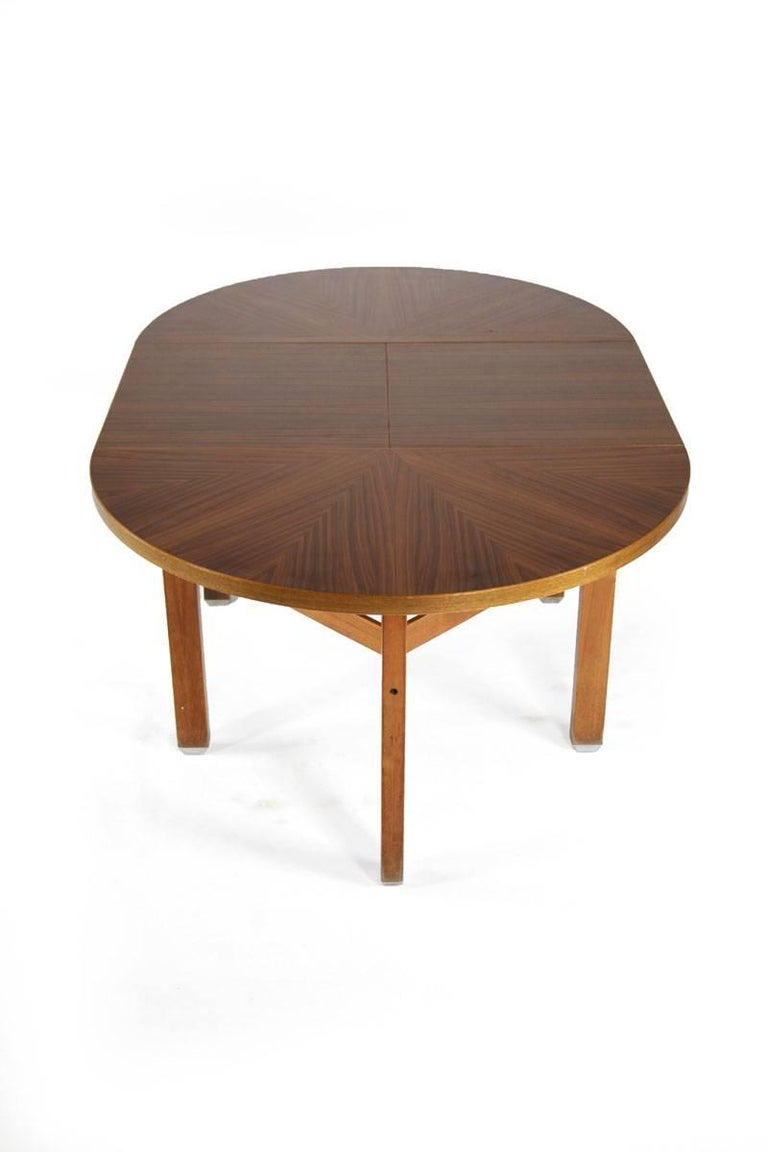 Italian Ico Parisi Wooden Dining Table, Italy, 1960s For Sale