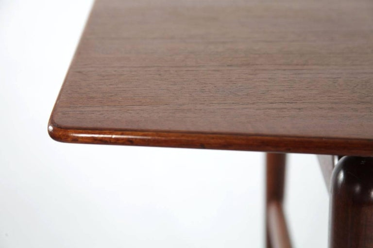 Teak Dining Table, Italy, 1950s For Sale at 1stdibs