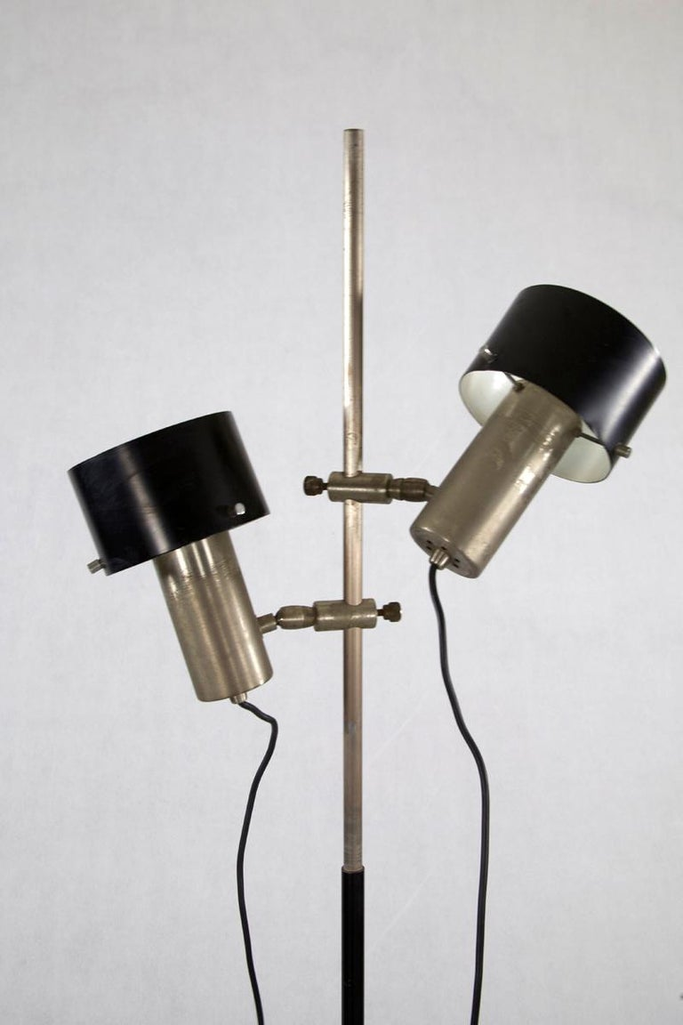 Lacquered Floor Lamp, Design by Stilnovo, Italy, 1960s For Sale