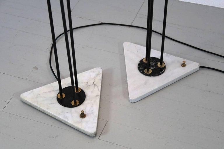 Italian Floor Lamp by Stilnovo, 1950s For Sale 2