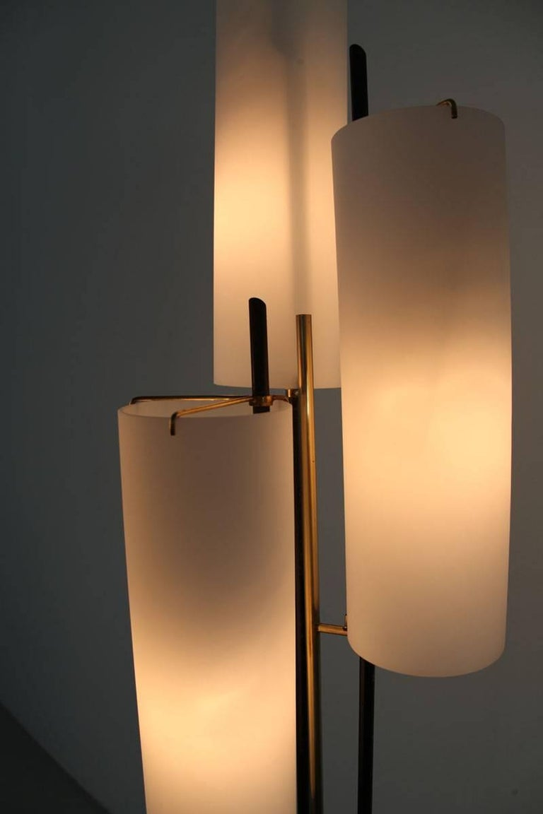 Italian Floor Lamp by Stilnovo, 1950s For Sale 4