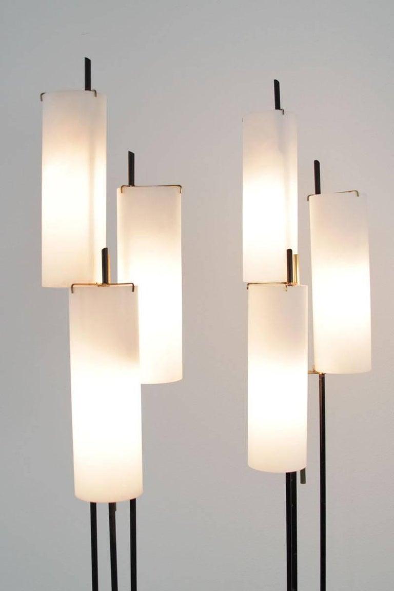Italian Floor Lamp by Stilnovo, 1950s For Sale 1