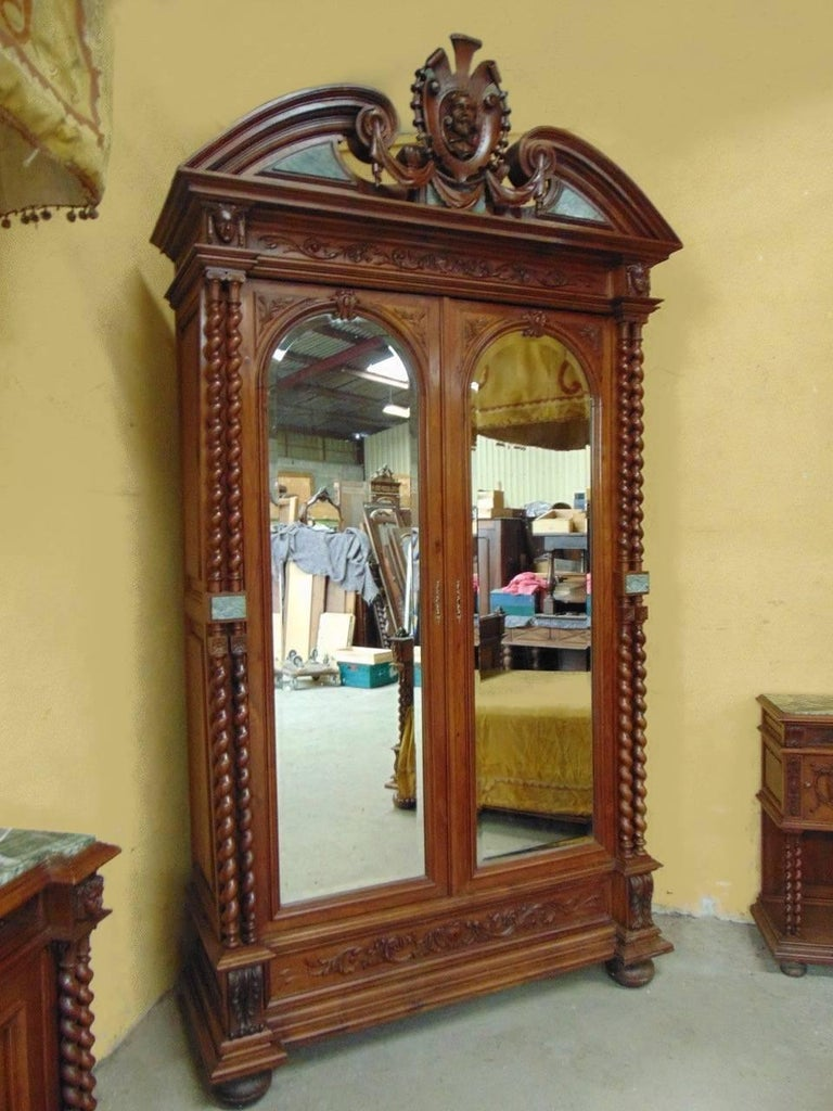 Renaissance Revival Bedroom Set Circa 1900 For Sale At