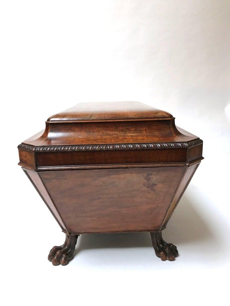 Georgian English Mahogany Sarcophagus Cellarette For Sale  : 437bmaster from www.1stdibs.com size 768 x 1024 jpeg 58kB