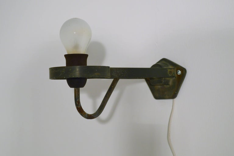 Outdoor Wall Lamp by Gunnar Asplund for ASEA, Sweden For Sale 1