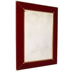 Claudius Velvet Antiqued Mirror