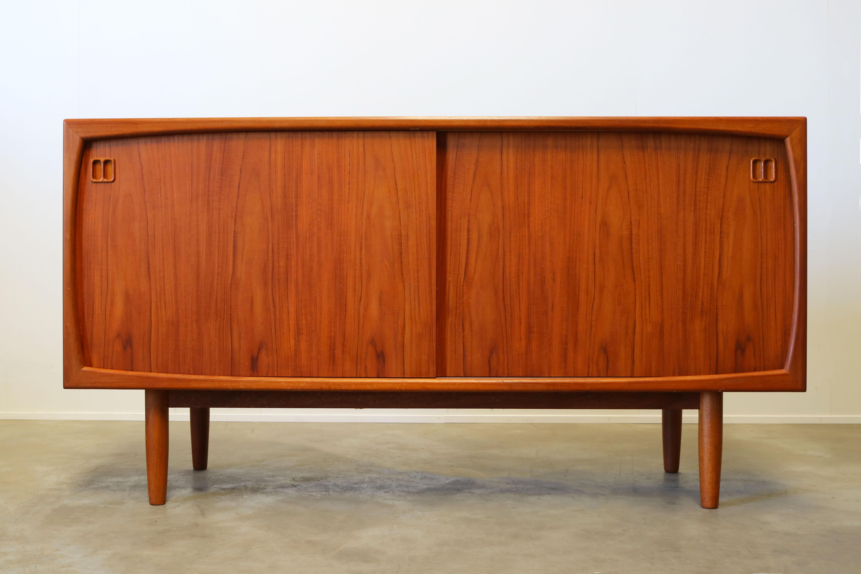 Danish Design Credenza : Vintage danish design sideboard credenza by dyrlund s teak