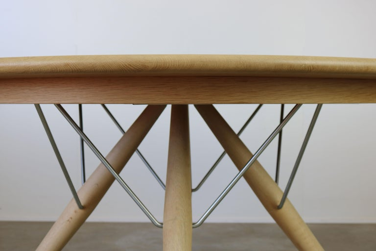 Danish Dining Set by Hans J Wegner for PP Mobler Model PP75 and PP205 Oak 1980s For Sale 2