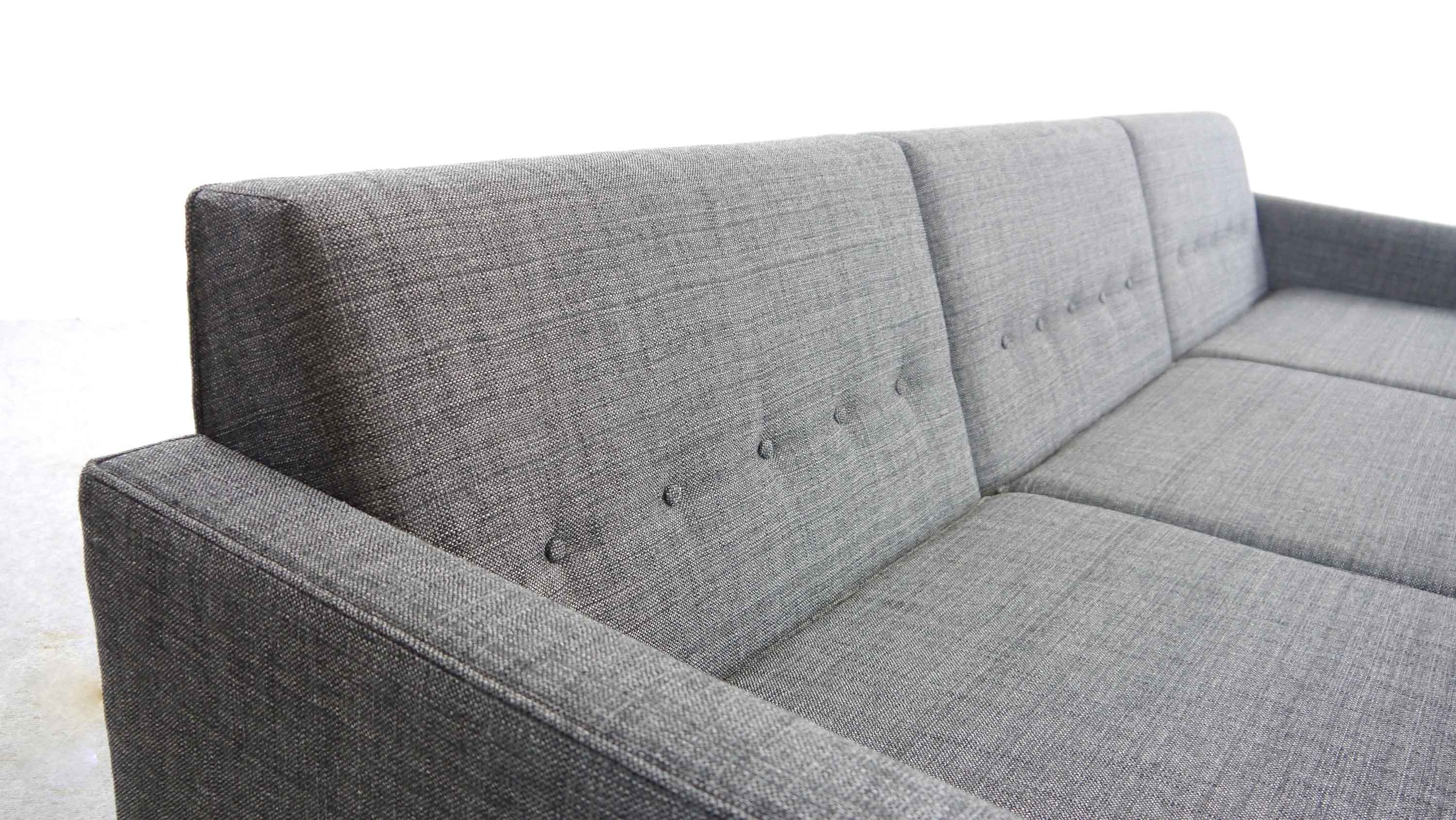 Tremendous George Nelson Modular Sofa 3 Seat With Armrests By Herman Miller Grey Fabric Pdpeps Interior Chair Design Pdpepsorg