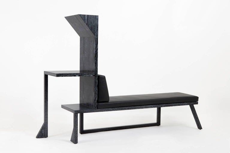 Is it a bench, a chaise, a console? It's Betwixt. This sculptural piece makes a grand entrance. Display afavourite vessel with some books or toss the keys in a bowl, sit down and take your shoes off, your new bag will look great on display until
