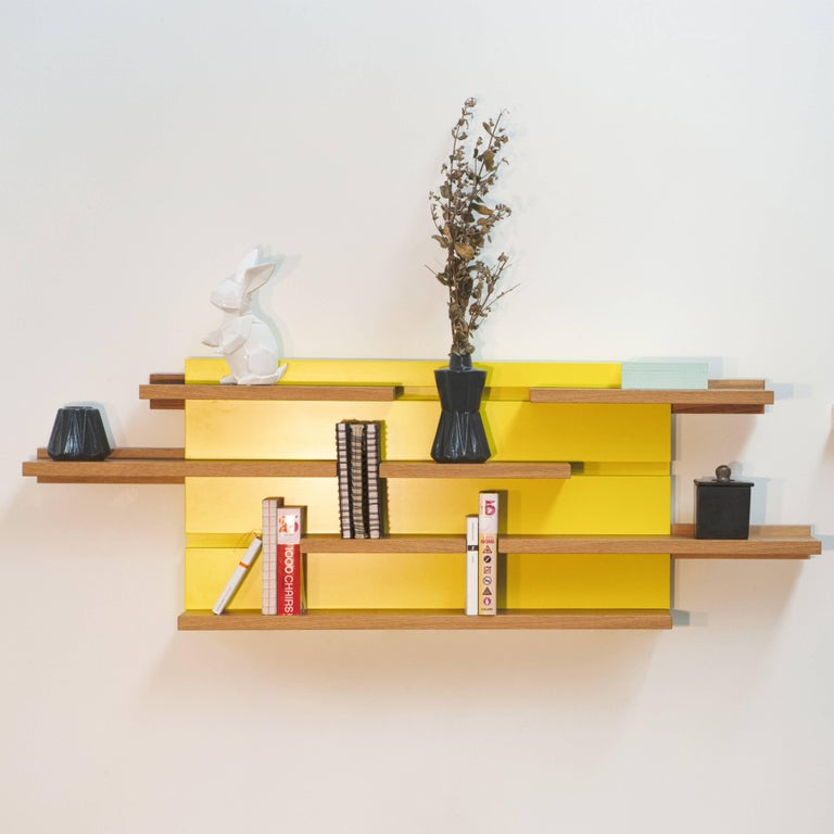Sline is the long-awaited child of a mural shelf and a bookend.
