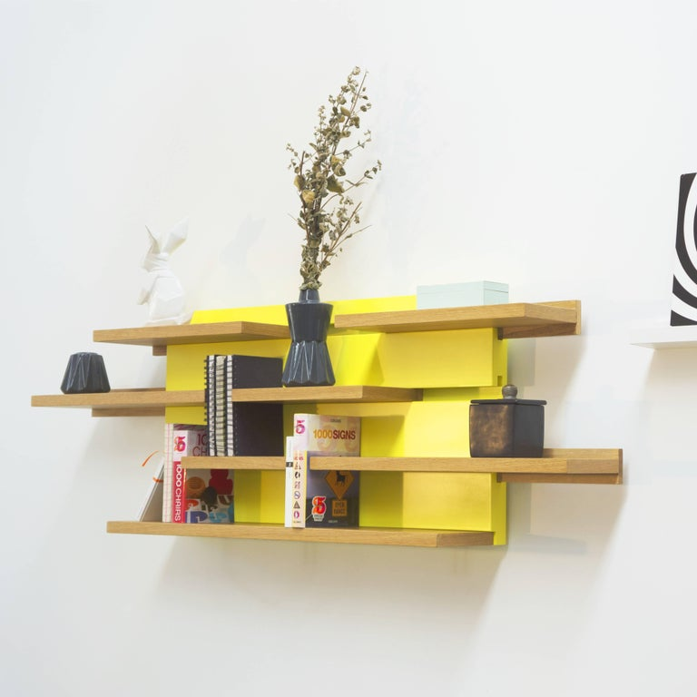 Modern Sline, Sliding Shelves by Astrid Louchart / Le Point D, Contemporary Furniture For Sale