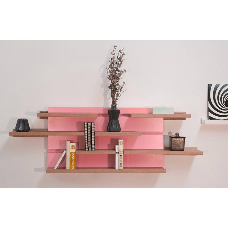 Sline, Sliding Shelves by Astrid Louchart / Le Point D, Contemporary Furniture For Sale 2