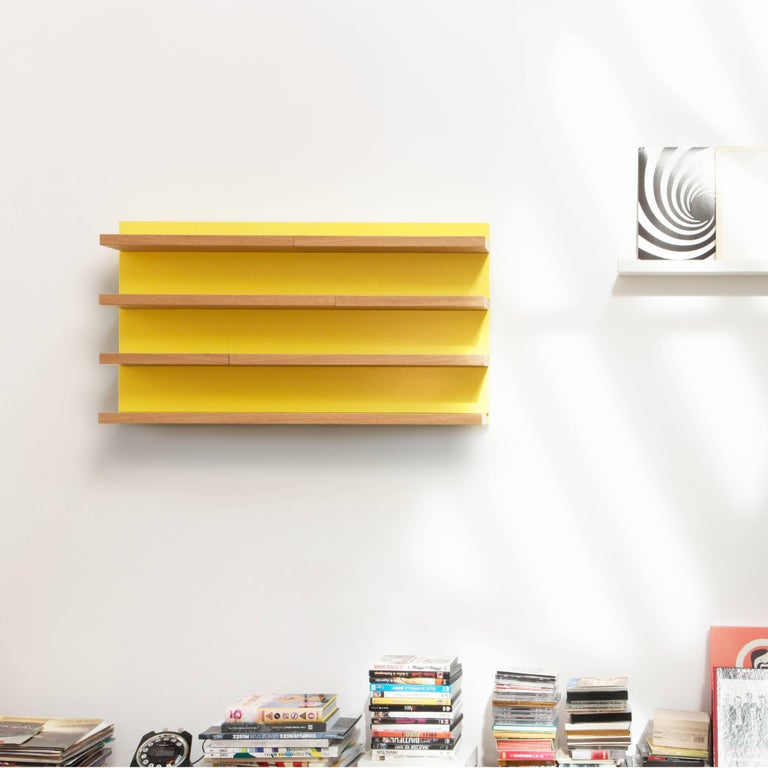 Lacquered Sline, Sliding Shelves by Astrid Louchart / Le Point D, Contemporary Furniture For Sale