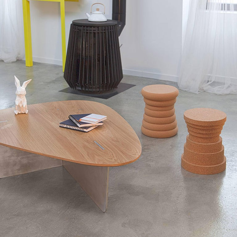 Crac cork stool by philippe cramer for le point d for Cramer furniture
