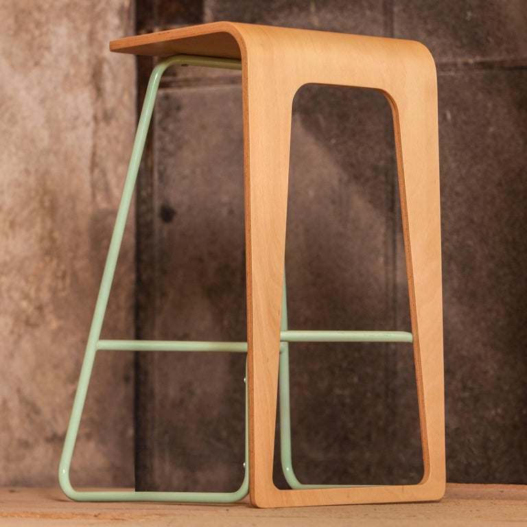 Kama Bar Stool By Le Point D Contemporary Furniture For