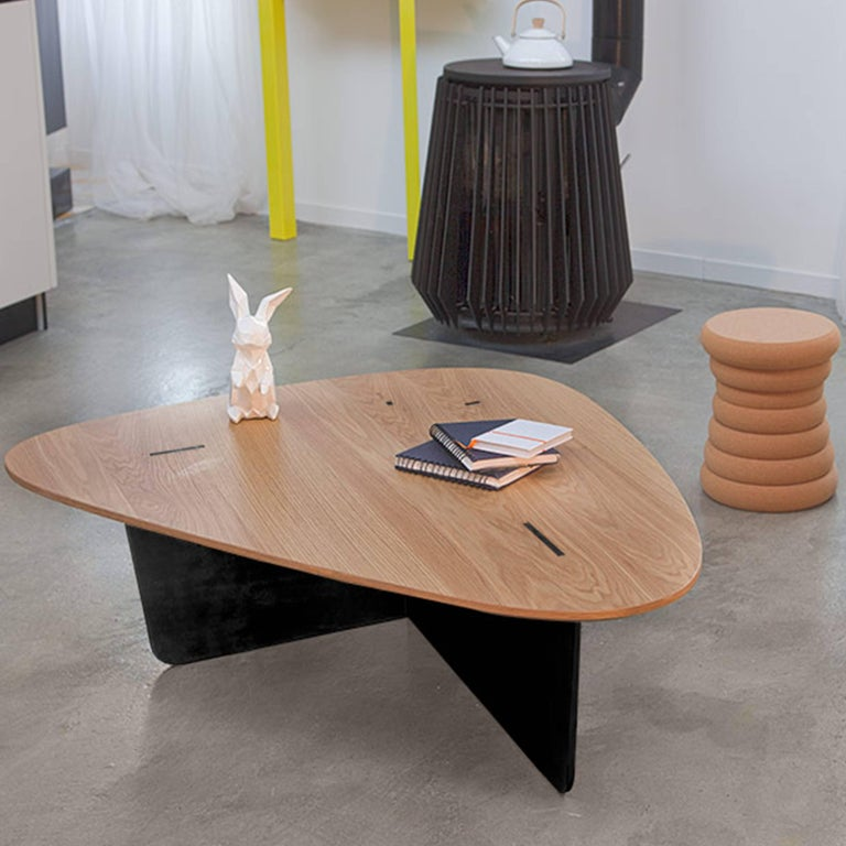 Hand-Crafted Aero, Coffee Table by Philippe Cramer for Le Point D, Contemporary Furniture For Sale